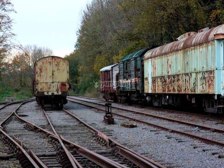 The train departs, deaths begin