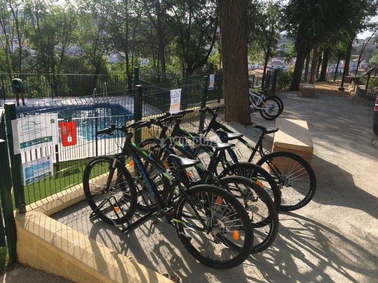 在Ronquillo出租自行车