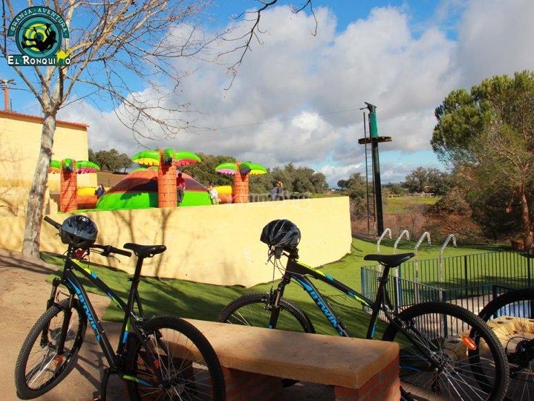 Ruta en bicicleta por la Vía Verde El Ronquillo