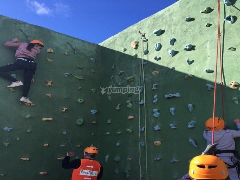 Monitor di arrampicata a El Ronquillo