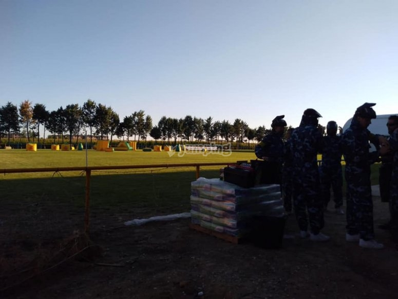 Paintball nel circuito di Salamanca