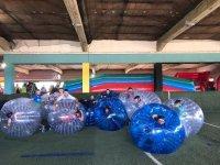 Jugar al bubble soccer en Salamanca