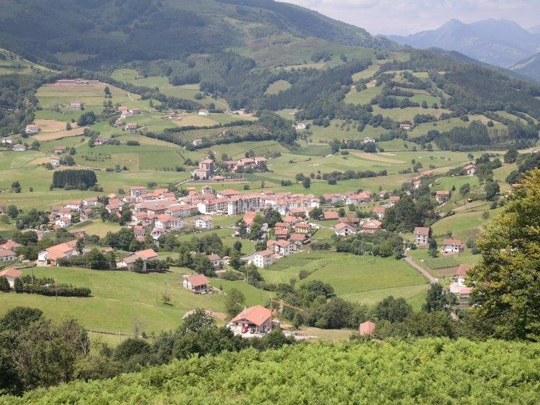 Paseo en globo pueblos de Navarra