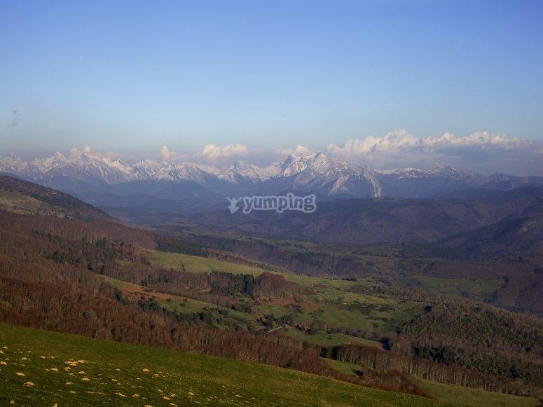 Ruta en globo por las zonas rurales de Navarra