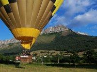 Pasea en globo por Navarra