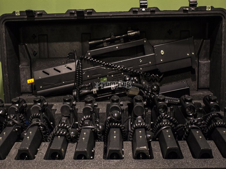 Full laser tag equipment in Leon