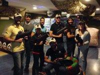 Indoor Laser Tag room in León