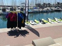 Neoprenes for the jet skis in Badalona