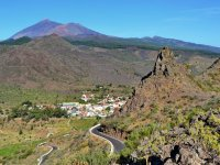 santiago del teide from the heights