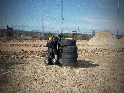 Paintball for all ages in Quijorna 1 hour