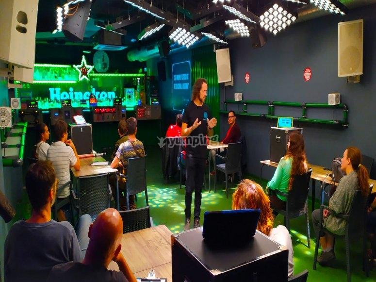 Nuestras instalaciones de hall escape en Valencia