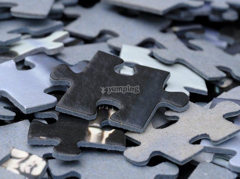 Soluciona los puzzles que te vamos proponiendo