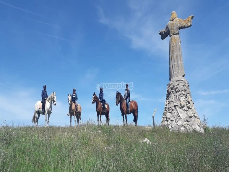 Visit the natural surroundings of Santillana