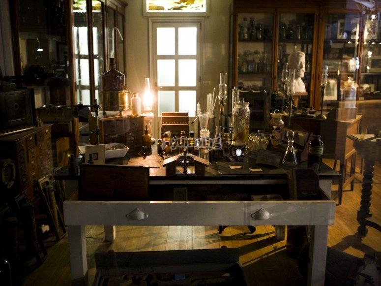 Il laboratorio in cui è morto il Dr. Williams Sr.