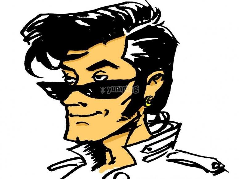 El detective rockero