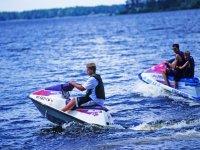 Excursión en motos de agua