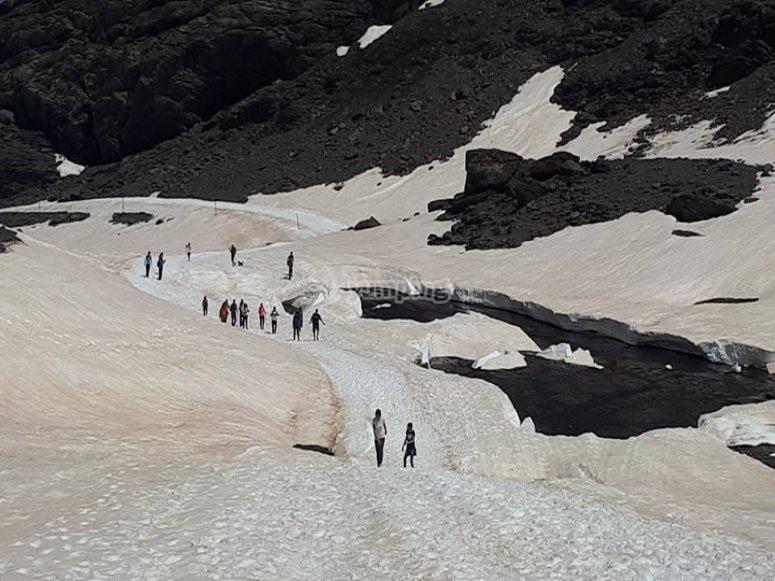 Tour por Fuente Alta con raquetas de nieve