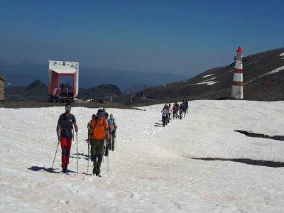 Ruta con raquetas de nieve desde Fuente Alta 3h