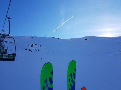 内华达山脉的私人滑雪课3小时