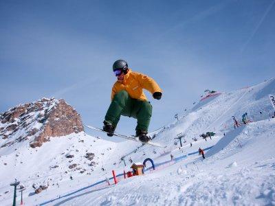 内华达山脉滑雪课3h