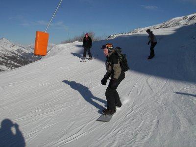 内华达山脉下午雪班2h