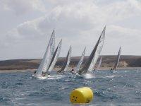 帆船在兰萨罗特岛