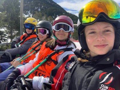Curso de esquí de 4 a 6 años en Valdesquí 6 días