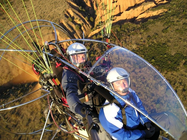 Paramotor for 2 in Guadalix
