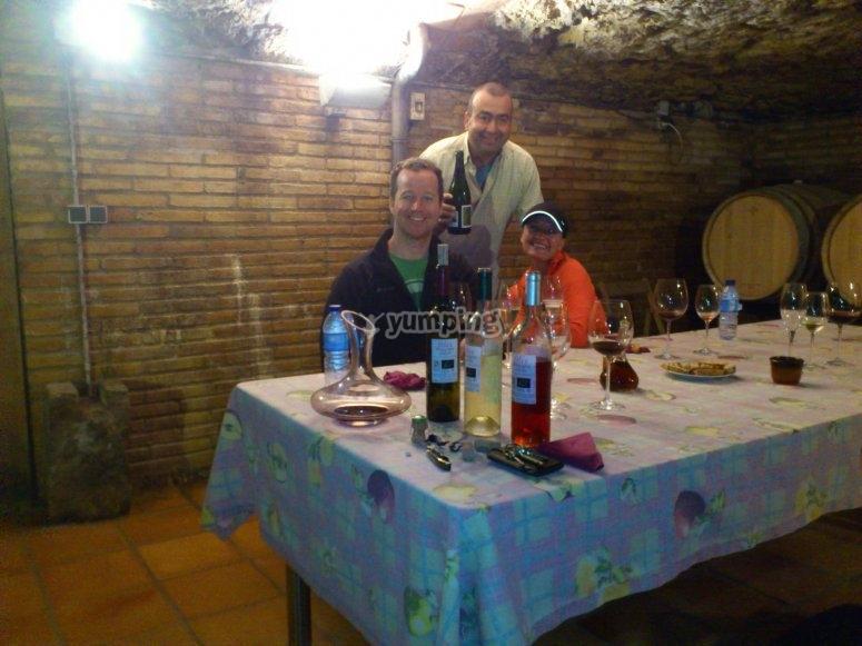 Degustazione di vini Penedés