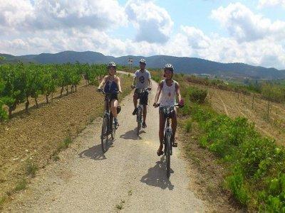 Alquiler bicicleta con GPS en Lavern de 4 horas