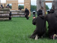 Paintball on grass in Sant Pere
