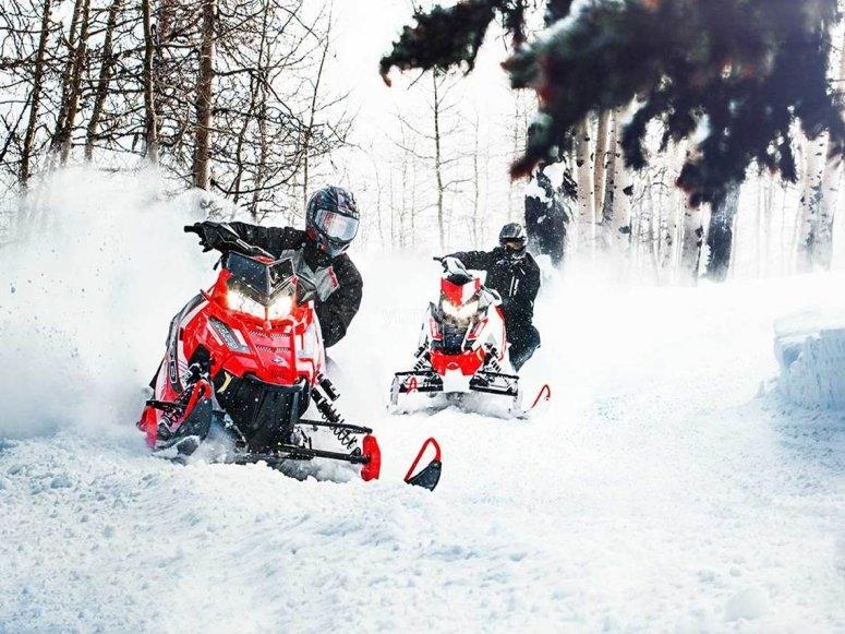 Tour en moto de nieve por Valle de Tena
