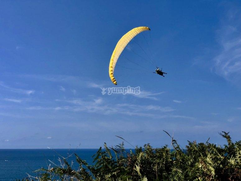 Vuela en parapente Barinatxe