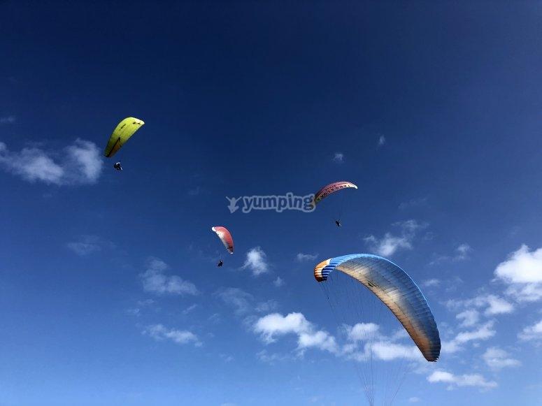 Experiencia de vuelo en parapente Sopelana