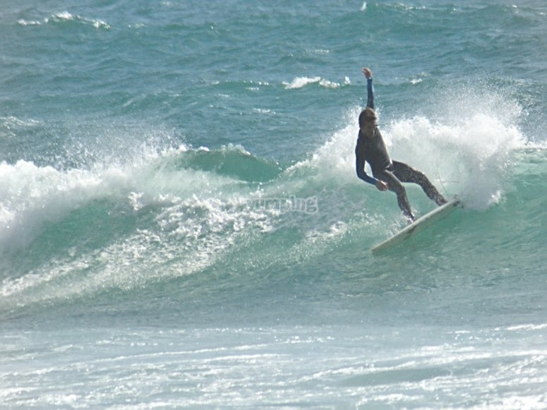 Catturare le onde sulle spiagge di Donostia