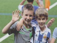 Campamento de fútbol en San Sebastián