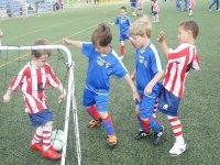 Hobby del calcio fin dalla tenera età