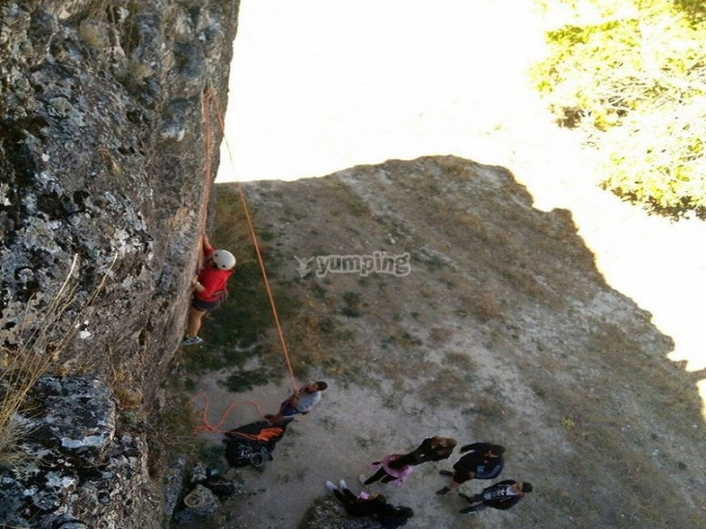 Aprende a escalar en roca