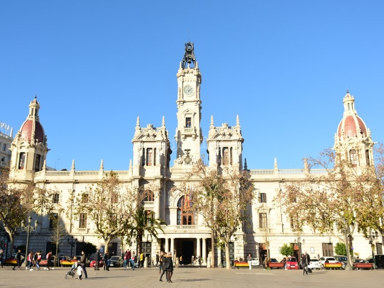 Starting point of our tour through the historic center of Valencia