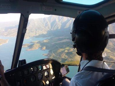 Volo in elicottero Sierra de Madrid 1h e 30 min