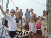 fiestas en alta mar