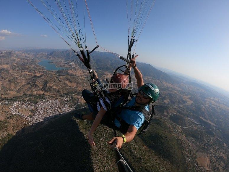 Fly over the Sierra de Algodonales