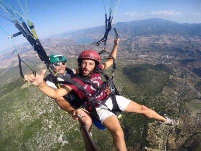 Vuelo parapente acrobático por Algodonales 30 min