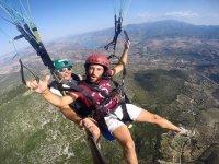 Acrobatic paragliding flight by Algodonales 30 min