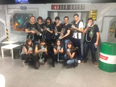 Laser Quest Mataró Laser Tag Team Building
