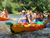 Kayaks para una, dos o tres personas