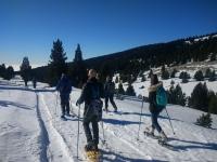 普伊格拉达冬季徒步旅行