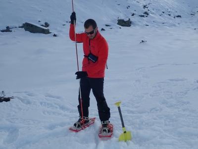Vallter snowshoeing progression course 2 days