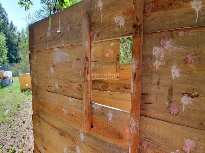 Tavole di legno per proteggerti