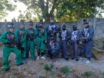 Gioco Paintball 200 palline in Salvaterra de Miño